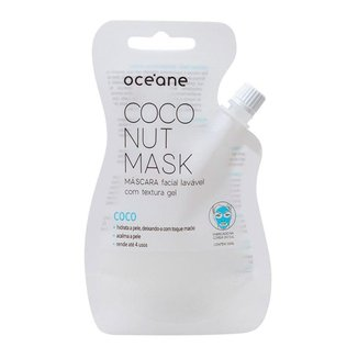 Máscara Facial Océane – Máscara Lavável de Coco Coconut Mask 1Un