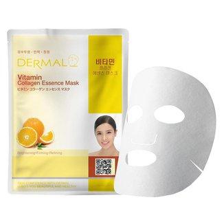 Máscara Facial Revitalizante Dermal - Colágeno com Vitamina C 23g