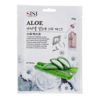 Máscara Facial Sisi Cosméticos - Aloe Spa Mask 1Un