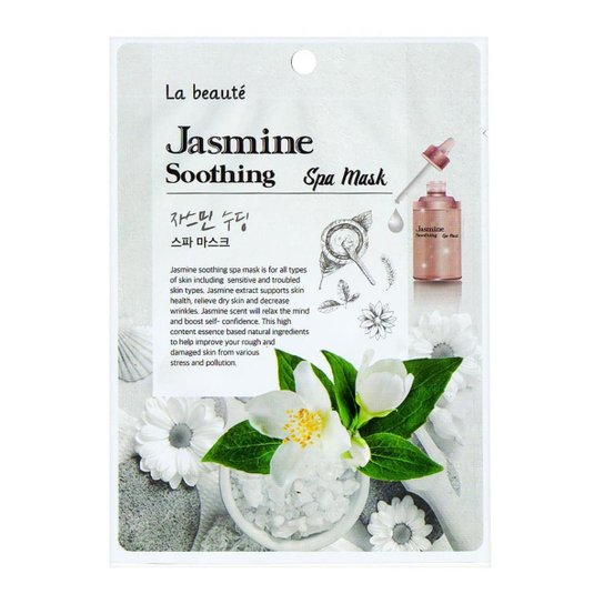 Máscara Facial Sisi Cosméticos - La Beauté Jasmine Soothing 1Un - Incolor