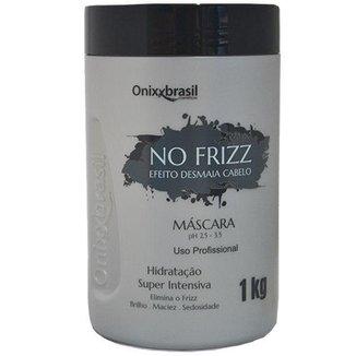 MÁSCARA NO FRIZZ DESMAIA CABELO 1 KG - ONIXX (UNICO)