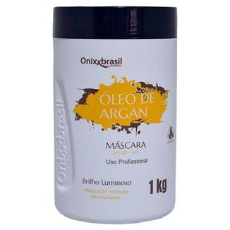 MÁSCARA OLÉO DE ARGAN 1 KG - ONIXX (BRANCO)