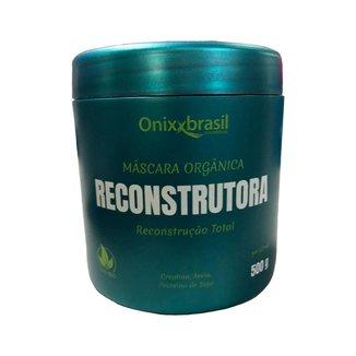 MASCARA ORGANICA RECONSTUTORA 500 G - ONIXX (VERDE)