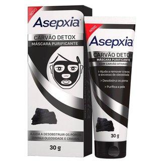 Máscara Peel Off Asepxia Carvão Detox 30g
