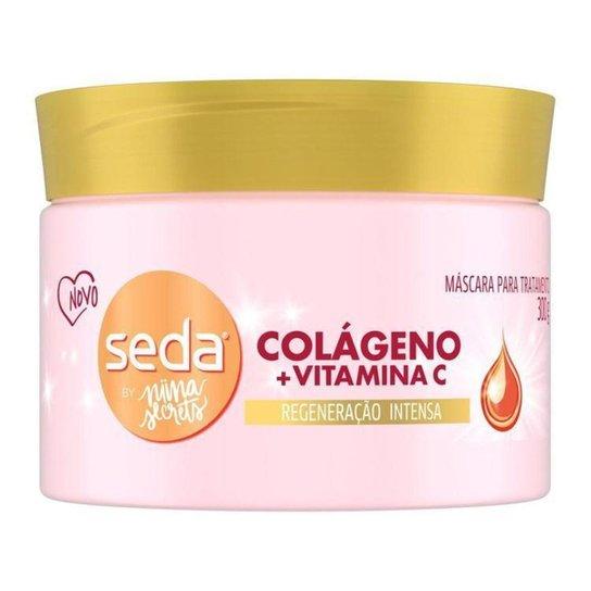 Máscara Seda By Nina Secrets Colágeno + Vitamina C - N/A