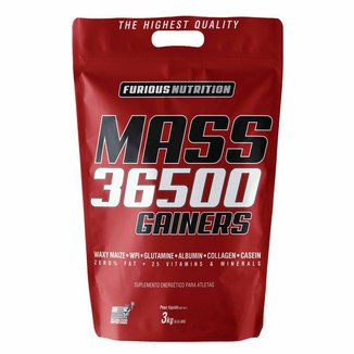 Mass 36500 Gainers Refil - Furious Nutrition