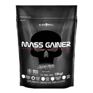 Mass Gainer 3kg Refil - Black Skull