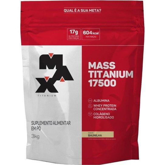 Mass Titanium 17500 (Sc) 3Kg - Max Titanium -
