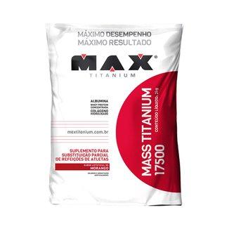 Mass Titanium 17500 3Kg Max Titanium Morango - Hipercaloricos