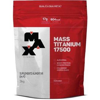 Mass Titanium 17500 Hipercalórico 3kg Max Titanium