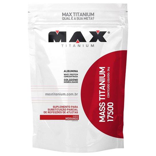 Massa 17500 3 kg Refil - Max Titanium -
