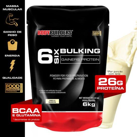 Massa 6 Bulking Gainers Protein 6 kg Refil - Bodybuilders -
