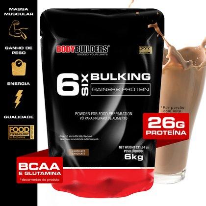 Massa 6 Bulking Gainers Protein 6 kg Refil - Bodybuilders