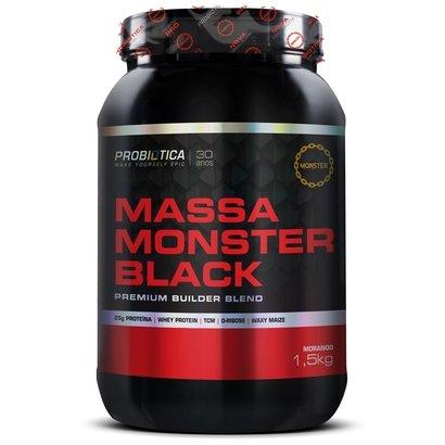Massa Monster Black 1,5kg – Probiótica