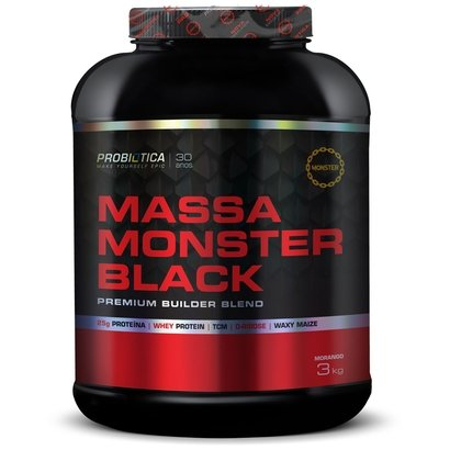 Massa Monster Black 3kg – Probiótica