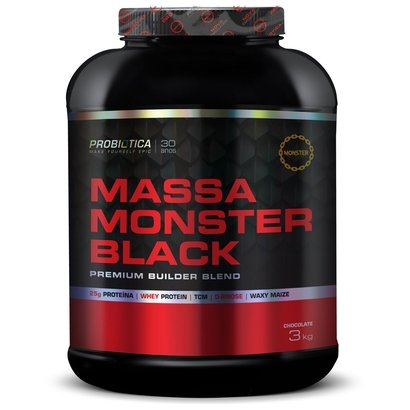 Massa Monster Black 3kg – Probiótica