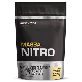 Massa Nitro - Refil 2.520g Baunilha  - Probiótica