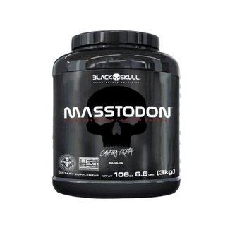 Masstodon 3kg - Black Skull