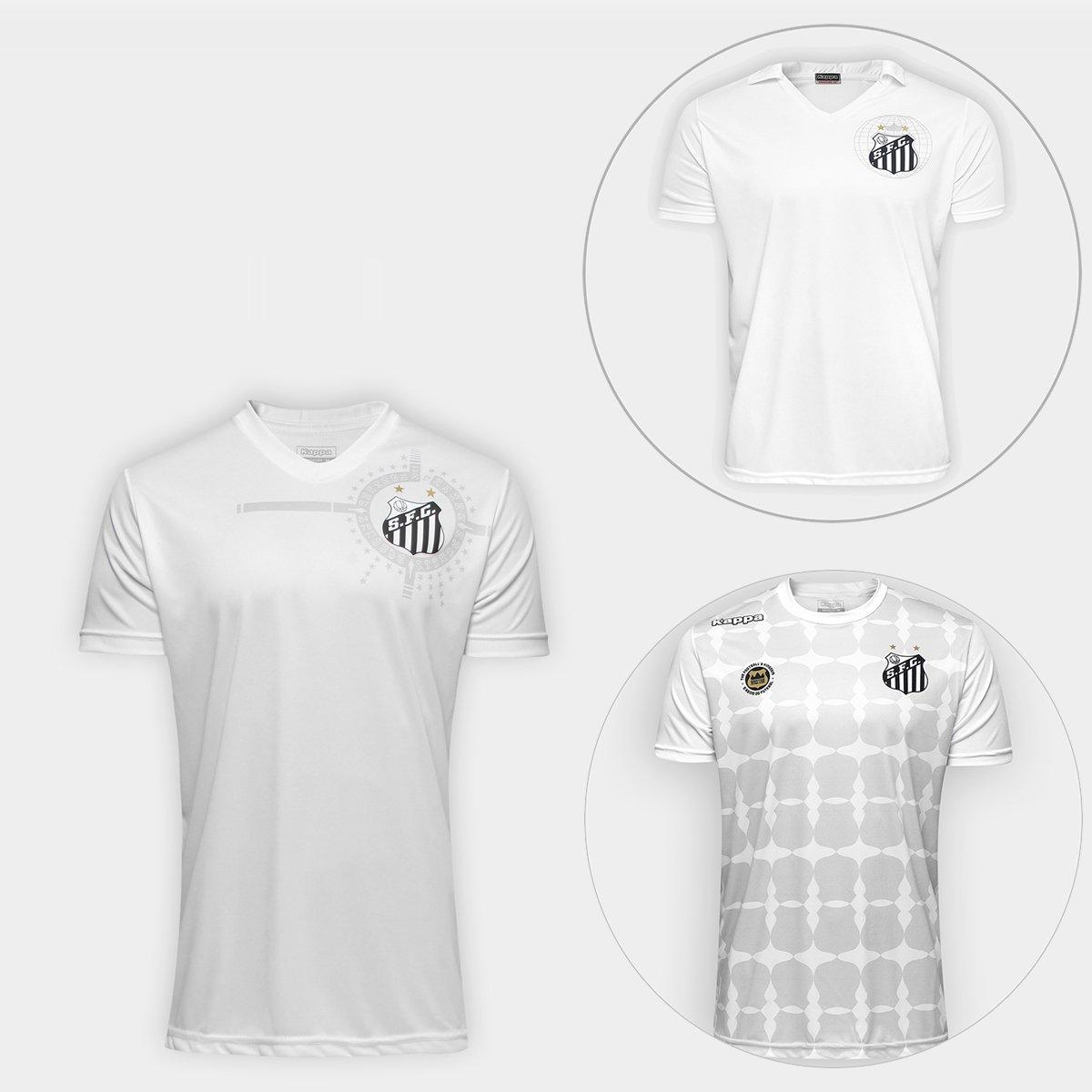 Master Kit do Santos - Camisa América 2011 + Camisa 2010 + Camisa Ed.  Limitada - Compre Agora  258f4299d0a0f