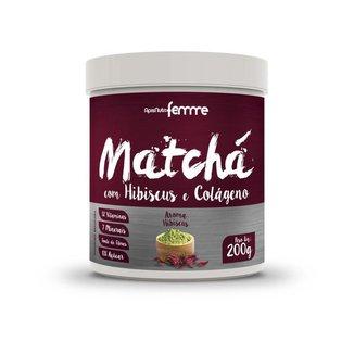 Matchá Apisnutri com Hibiscus e Colágeno 200g