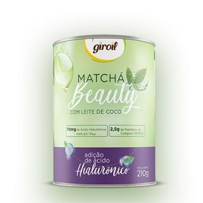 Matcha Beauty com Leite de Coco e adição de Ácido Hialurônico 210g - Giroil - Unissex