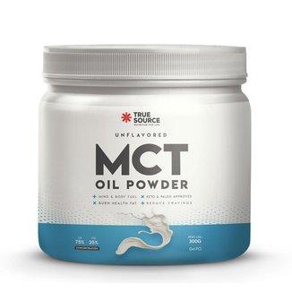 MCT OIL POWDER 300G - TRUE SOURCE (SEM SABOR)