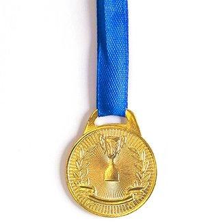 Medalha AX Esportes 30mm Honra ao Mérito Dourada-FA465