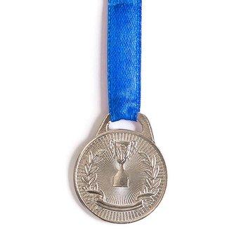 Medalha AX Esportes 30mm Honra ao Mérito Prateada - FA465