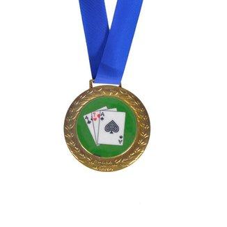 Medalha de Carteado Dinâmica Diversões