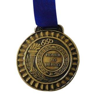 Medalha Gedeval Média Bronze 44mm