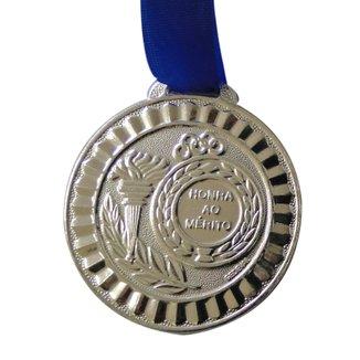 Medalha Gedeval Média Prata 44mm