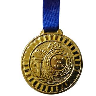 Medalha Gedeval Mini Ouro 29mm