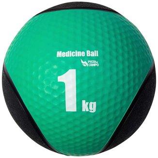 Medicine Ball Pista e Campo de Borracha Inflável Premium 1kg