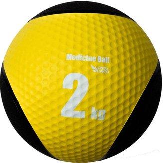Medicine Ball Pista e Campo de Borracha Inflável Premium 2kg