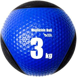Medicine Ball Pista e Campo de Borracha Inflável Premium 3kg