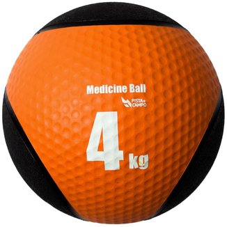 Medicine Ball Pista e Campo de Borracha Inflável Premium 4kg