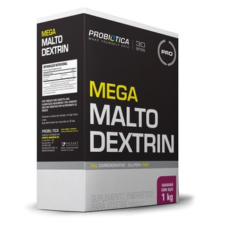 Mega Maltodextrim 1 kg - Probiótica