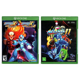 Mega Man 11 + Mega Man X Legacy Collection 1+2 - Xbox One