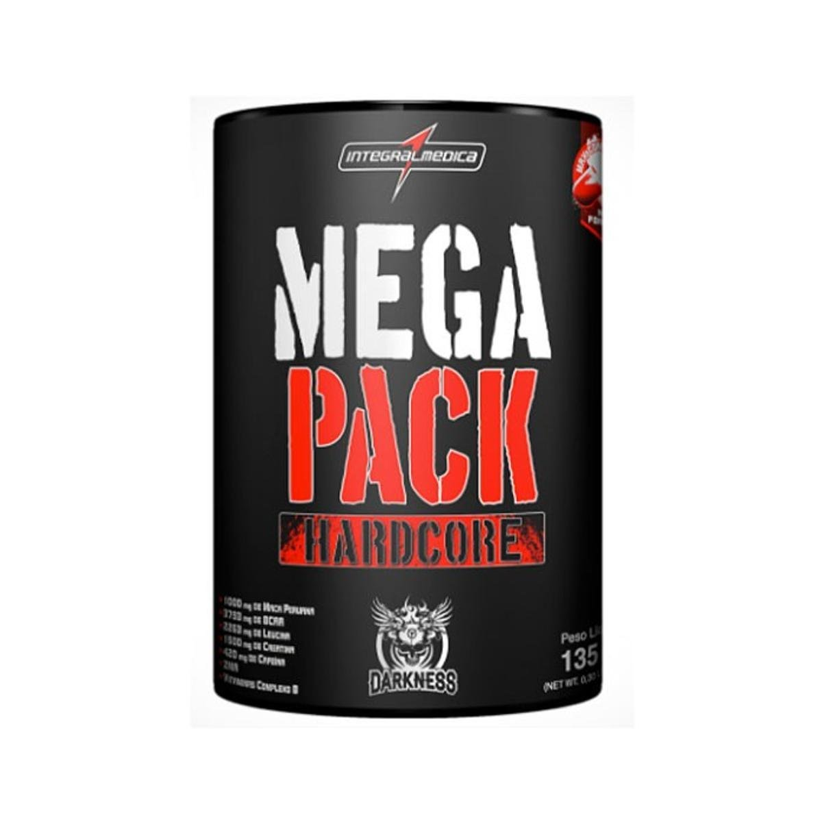 9bb0a4ed0094d Mega Pack 15 Packs Darkness - IntegralMédica - Sem Sabor - Compre Agora