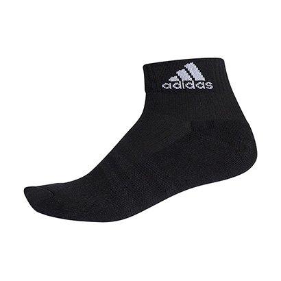 Meia Adidas Ankle Cushion 3S Cano Médio