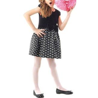 Meia calça infantil fio 40 menina Lobinha Lupo