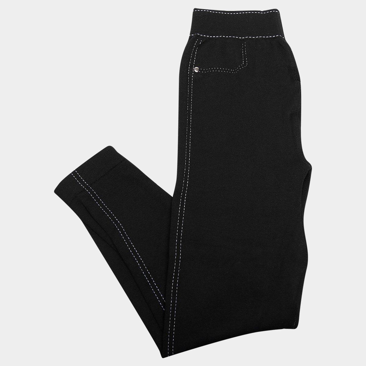 b25825652 Meia Calça Infantil Lupo Legging Jeans
