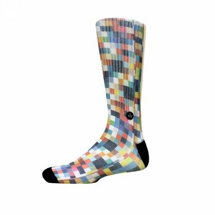 Meia Cano Longo Hoshwear Pixel Colors