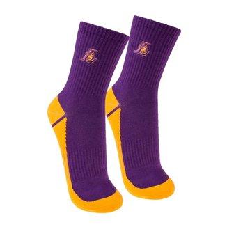 Meia Cano Médio NBA Los Angeles Lakers