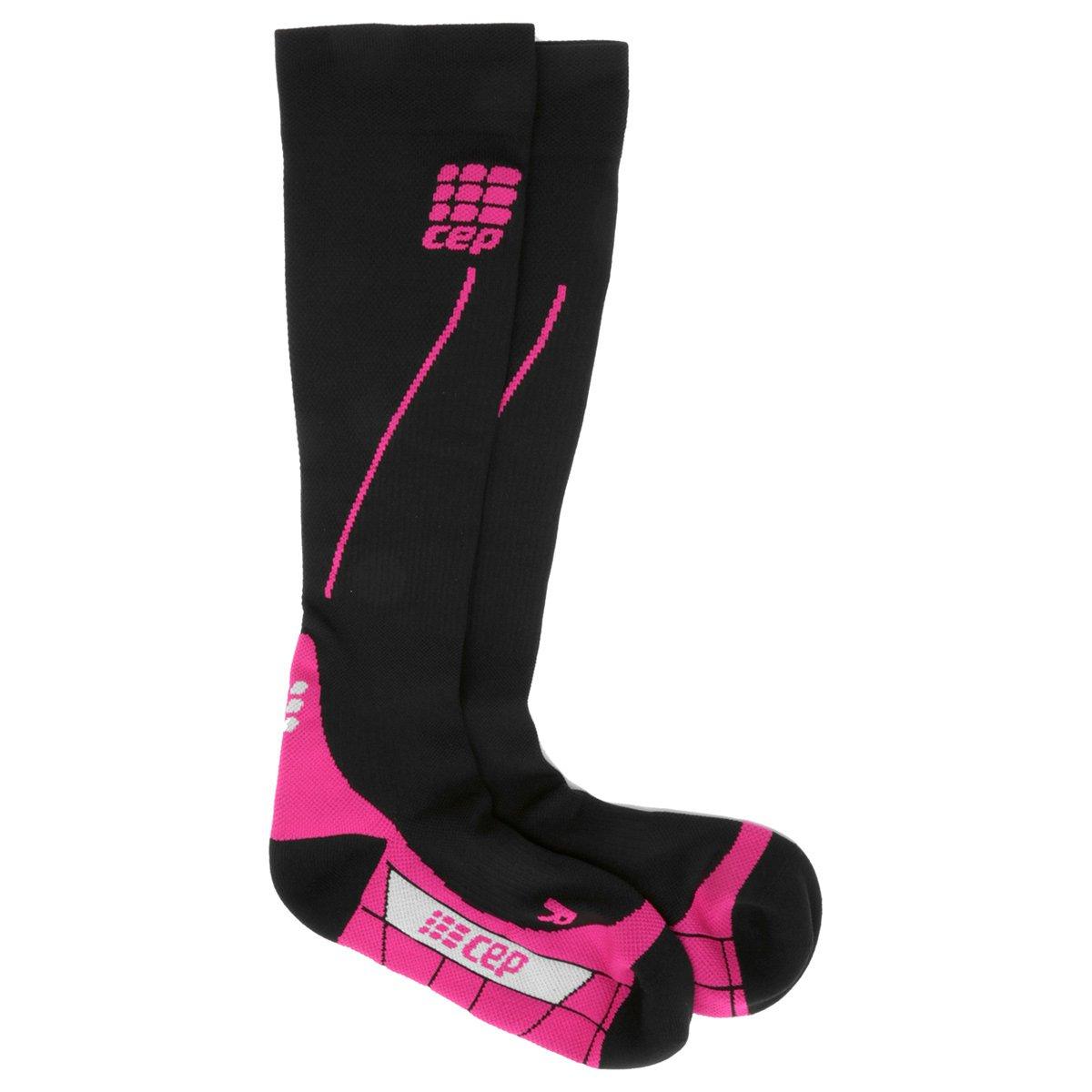 38 0 Pink cm De 2 Run Preto e Panturillha Meia 32 CEP Compressão xUO8wq6