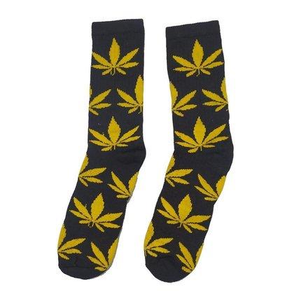 Meia FSB - Weed Folhas amarelas