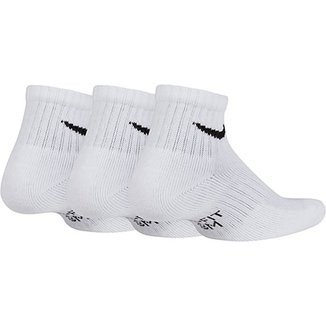 Meia Infantil Nike Everyday Cano Curto Kit 3 Pares