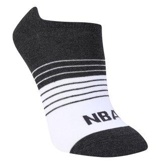 Meia NBA Cano Curto Stripes Colorblock