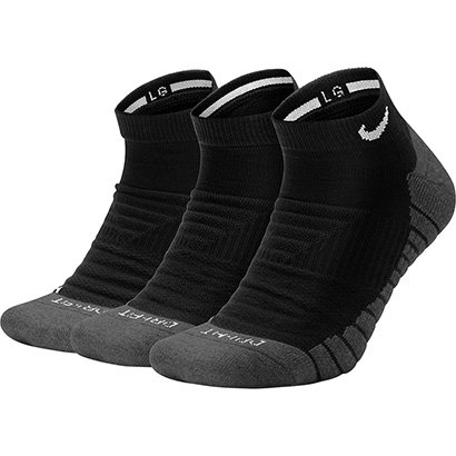 Meia Nike Cano Médio Evry Max Cush Ns 3Pr