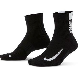 Meia Nike Cano Médio Mltplier Ankle c/ 2 Pares